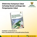 Recently Published: Effectiveness of Zakat Campaigns on Institutional Brands and Zakat Collection
